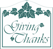 Giving Thanks Ministries logo